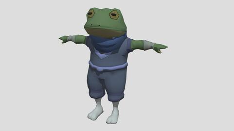 Lerink the Frog