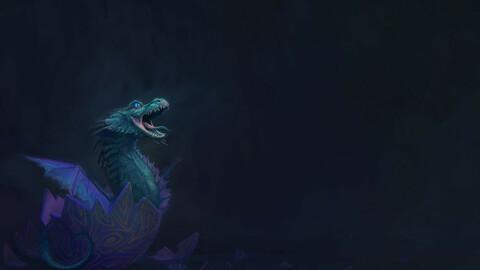 Dragon Screen Background