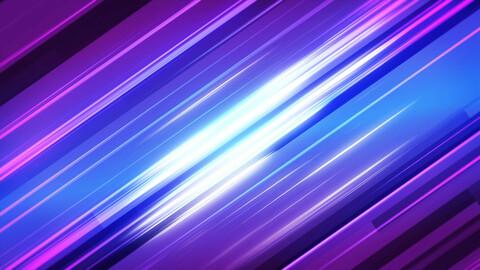 Futuristic glitch gaming banner
