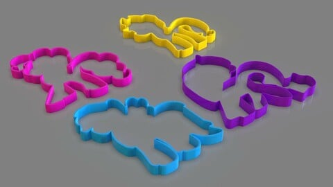 My Little Pony Cookie Cutter Pack