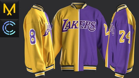 New concern Marvelous Clo3D Bomber Lakers