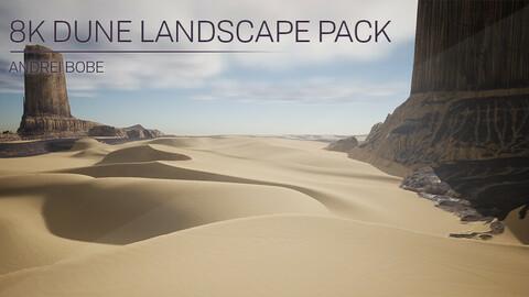 8K Dune Landscape Pack