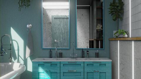 Bathroom series, pt2: summertime