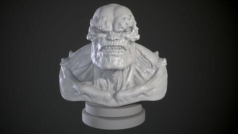 Doomsday Sculpt 3D Print