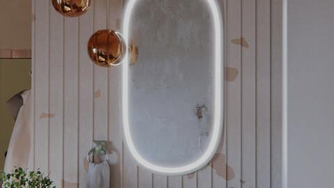 Bathroom series, pt5: Andante con moto (Marvelous Designer files included)