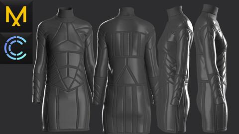 New concern Marvelous Clo3D Dress CyberPunk