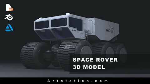 Planetary Rover | Sci-Fi Vehicle