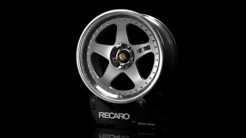 Nismo LM GT1 car rim