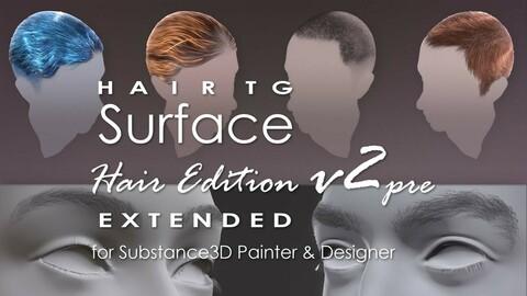 HairTG - Surface, Hair Edition Extended v2.0pre