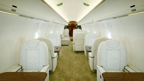 Jet Interior HDR