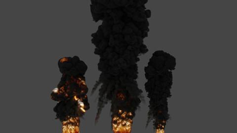 VDB Simple explosion