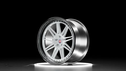 HRE Classic 301 Car wheel 3D model