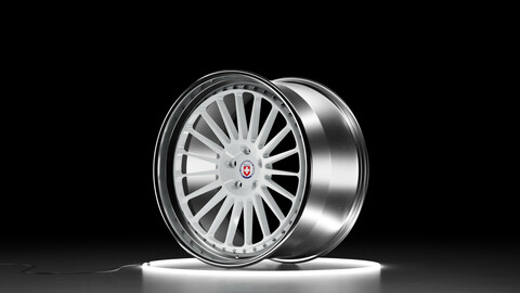 HRE Classic 309 Car wheel 3D model