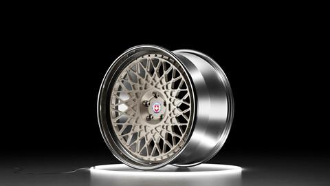 HRE 501 Car wheel 3D model