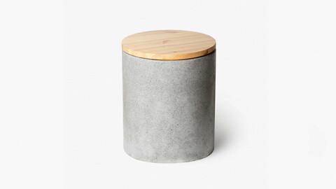 Wood Circle Stool
