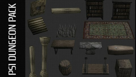 PS1 Dungeon Pack