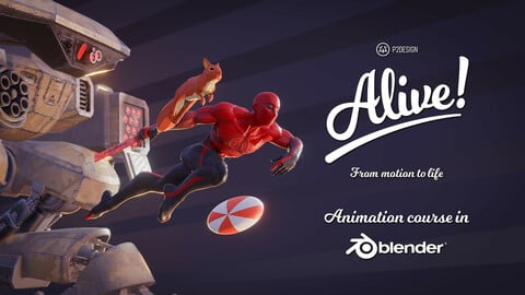 Alive! Animation Course in Blender