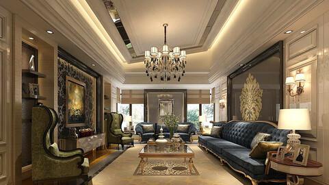 Modern fashion style interior living room -0515