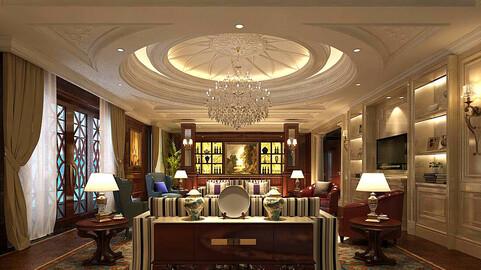 Modern fashion style interior living room -0517