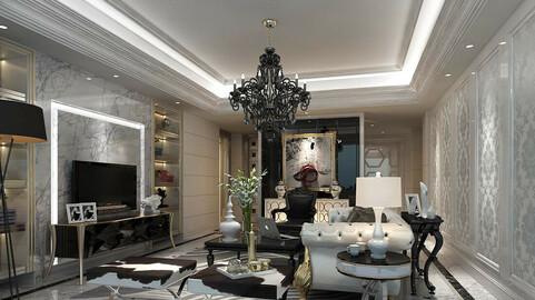 Modern fashion style interior living room -0522