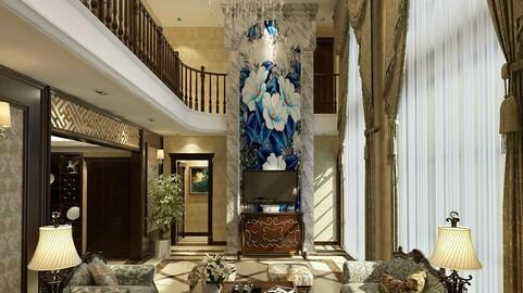 Modern fashion style interior living room -0524