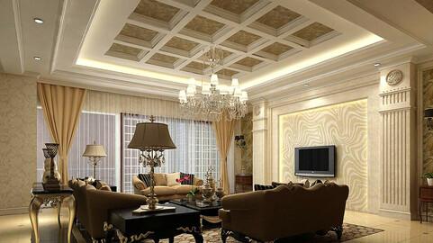 Modern fashion style interior living room -0531