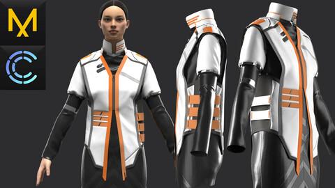 New concept Marvelous Clo3D Outfit Female OBJ mtl FBX