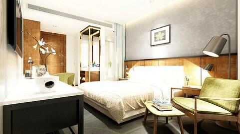 bedroom hotel suites designed a complete 66