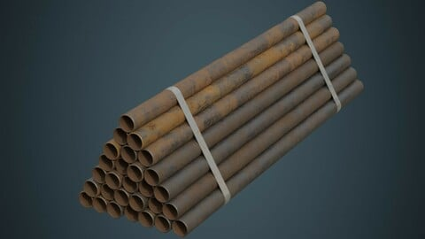 Industrial Pipes 3B