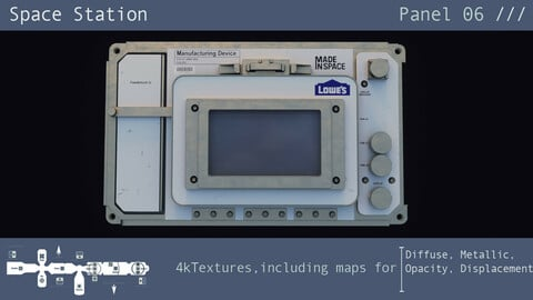 Space Station Panel 06