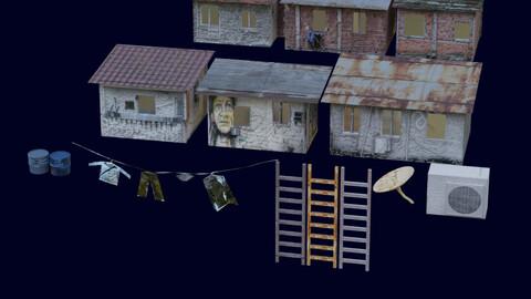 Shanty Town asset pack