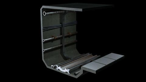 Sci-Fi Metro Tunnel