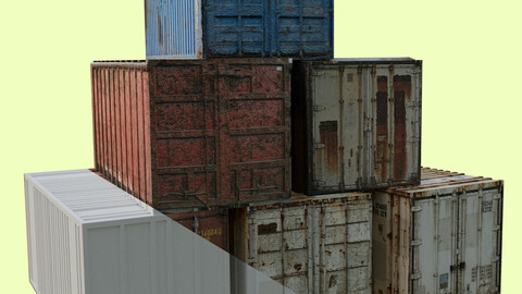 3D containers for Blender