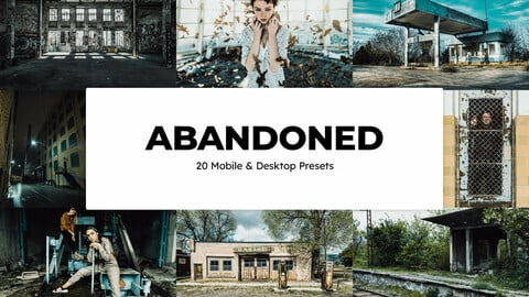 20 Abandoned LUTs and Lightroom Presets