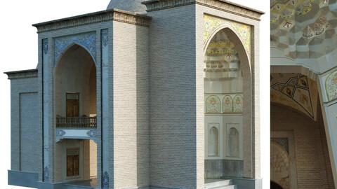 old islamic turkish tomb set 140