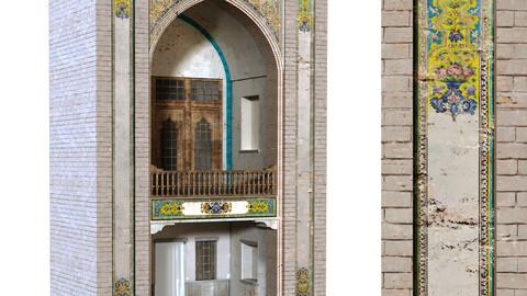 old islamic turkish arch set 136