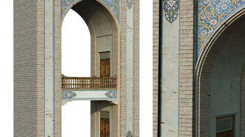 old islamic turkish arch set 143