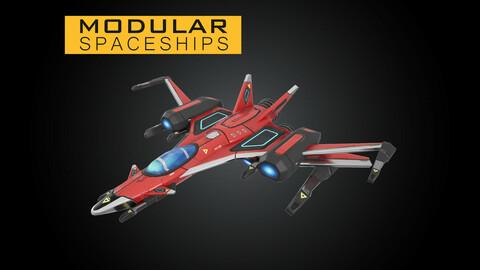 Star Sparrow Modular Spaceship