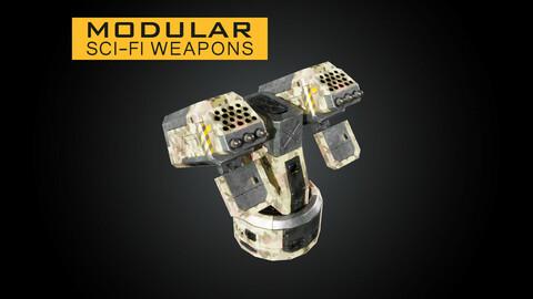 Modular Sci-Fi Weapons