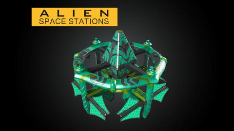 Alien Modular Space Stations