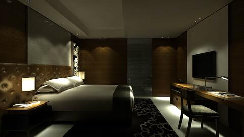 bedroom hotel suites designed a complete 98