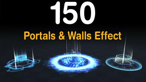 150 Portals & Walls Effect