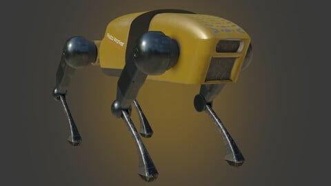 Stylized RoboDog