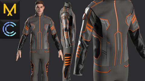New concept Marvelous Clo3D Outfit Male OBJ mtl FBX