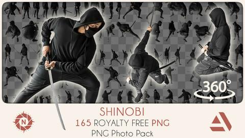PNG Photo Pack: Shinobi