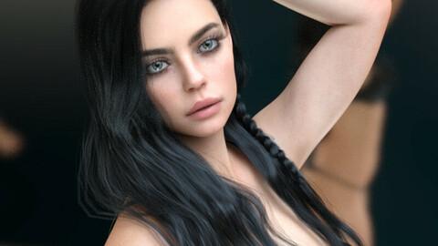 Kayla for Genesis 8 Female
