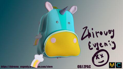 Children's backpack Unicorn