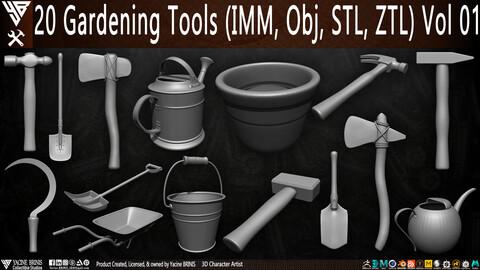 20 Gardening Tools Pack 01