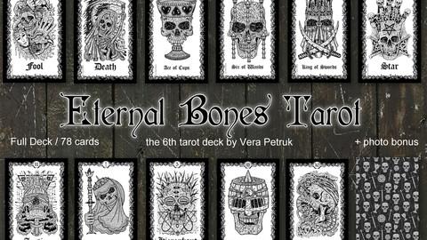 Eternal Bones Tarot monochrome