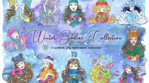 Winter Zodiac collection